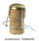 cork from champagne | Shutterstock . vector #43386340