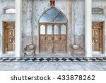 Old Wooden Doors In A Church...