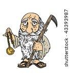 Father Time   Vector...