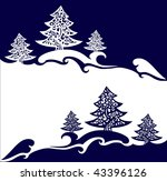 new year's card | Shutterstock .eps vector #43396126