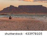 table mountain beach | Shutterstock . vector #433978105