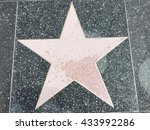 a big star on the ground | Shutterstock . vector #433992286
