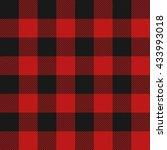 lumberjack plaid seamless... | Shutterstock .eps vector #433993018