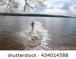 jump into the water | Shutterstock . vector #434014588