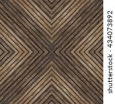 Wood Texture  X Shape  Materia...