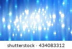 abstract background. blue shiny ... | Shutterstock . vector #434083312