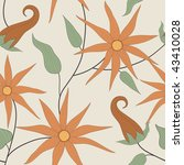 vector seamless pattern of... | Shutterstock .eps vector #43410028
