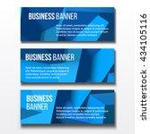 set of three horizontal...   Shutterstock .eps vector #434105116