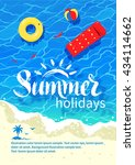 summertime design with... | Shutterstock .eps vector #434114662