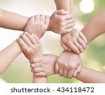 corporate social responsibility ... | Shutterstock . vector #434118472