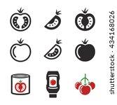tomato icons  ketchup  tomato...