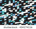 abstract colorful vector... | Shutterstock .eps vector #434174116