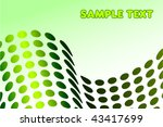 abstract modern background... | Shutterstock .eps vector #43417699