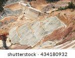 under construction of concrete... | Shutterstock . vector #434180932