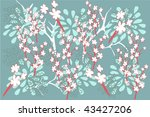 flower | Shutterstock .eps vector #43427206