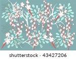 flower | Shutterstock .eps vector #43427206