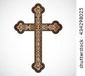 Elegant Ornamental Golden Cross ...