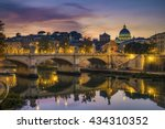 st. peter's cathedral  basilica ...   Shutterstock . vector #434310352