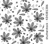 chestnut   kyiv symbol.... | Shutterstock .eps vector #434381386