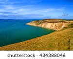 alum bay at with beautiful... | Shutterstock . vector #434388046
