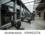 fitness club in luxury hotel... | Shutterstock . vector #434401276
