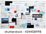 financial accounting economy... | Shutterstock . vector #434408998