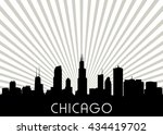 Chicago Skyline. Vector...