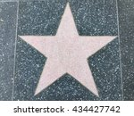 a big star on the ground | Shutterstock . vector #434427742