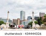 denver  colorado  usa june 11 ... | Shutterstock . vector #434444326