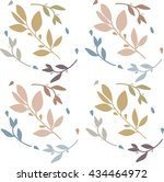 leaves | Shutterstock .eps vector #434464972