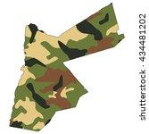 camo texture in map   jordan | Shutterstock . vector #434481202