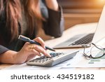 accountant | Shutterstock . vector #434519182