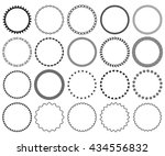 decorative frame set. ... | Shutterstock .eps vector #434556832