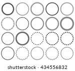 decorative frame set. ...   Shutterstock .eps vector #434556832