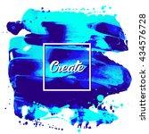 flyer template or invitation... | Shutterstock .eps vector #434576728