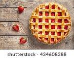 Traditional Strawberry Pie Tart ...
