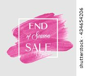 End Of Season Sale Sign Over...
