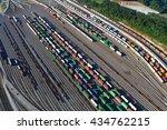switching yard | Shutterstock . vector #434762215
