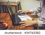 shopping online | Shutterstock . vector #434763382