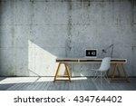 3d rendered industrial style... | Shutterstock . vector #434764402