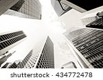Abstract Buildings Background