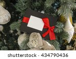 new year and chrstmas postcard | Shutterstock . vector #434790436