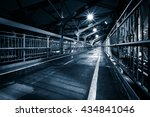 moody monochrome view of...   Shutterstock . vector #434841046