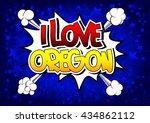 I Love Oregon   Comic Book...