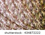 military fabric background... | Shutterstock . vector #434872222