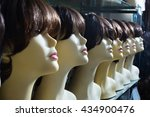 mannequins with brunet style... | Shutterstock . vector #434900476