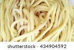 raw egg noodle texture | Shutterstock . vector #434904592