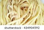 raw egg noodle texture | Shutterstock . vector #434904592