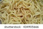 raw egg noodle texture | Shutterstock . vector #434905666