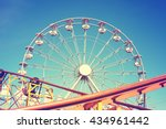 vintage toned picture of an...   Shutterstock . vector #434961442
